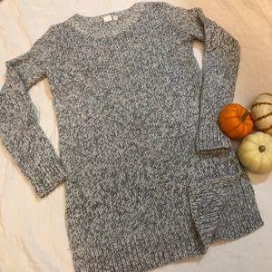 GAP MATERNITY Long Gray Sweater